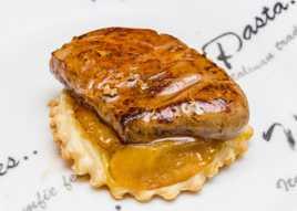 Tatin de foie poelé