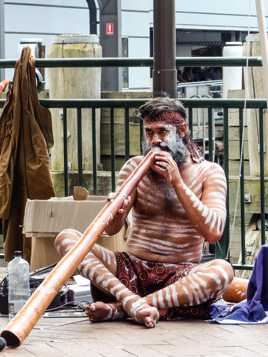 Aborigène_Didgeridoo