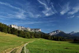 Chemin d'alpage