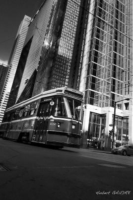 Old tram…New town