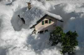 Enfouie sous la neige