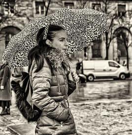 Parapluie a Coeurs ...