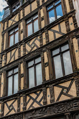 Belle façade rue St-Romain ROUEN