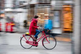 Mon vélo rouge