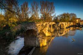 Couleur d'automne sur le petit pont