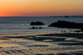 Un soir, en Bretagne.