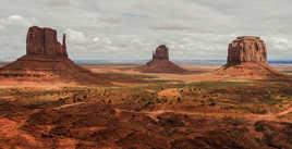 les grandes étendues: Monument Valley
