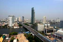 Bangkok vue d'en haut...