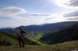 Regard sur Gresse en Vercors (Isère)