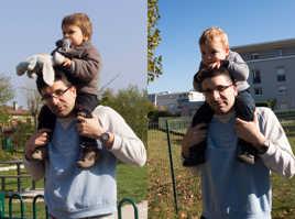 2 Epoques 2 enfants