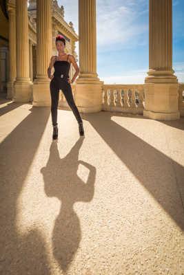 Christina au palais longchamp