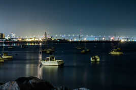 St Nazaire by night