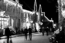 Noel en noir et blanc