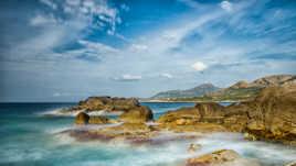 Coup de vent sur la côte Corse