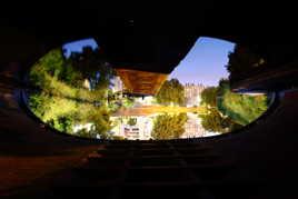 Reflet sous le pont