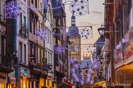 Rouen - Rue du Gros-Horloge