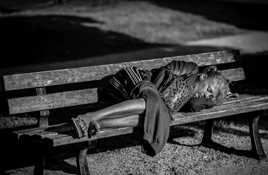 Dormir dans la rue