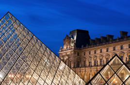 la grande et petite pyramides