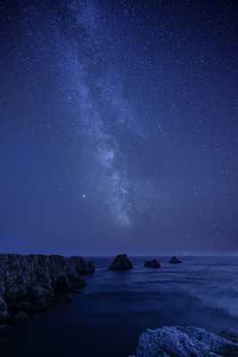 Pointe de Pen-Hir Voie Lactée. (Bretagne) (Nikon 14-24 mm F2.8)