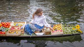 La marchande  de légumes