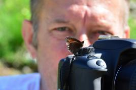 Papillon photographe...