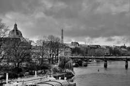 Un cilel chargé sur Paris