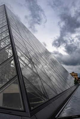 Pyramide et Arc du Carrousel