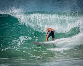 Mangé par la vague