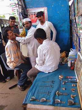 Dentiste de rue
