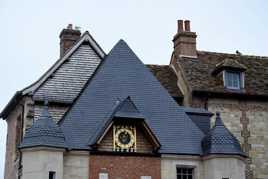 les toits de Honfleur