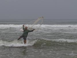 pêcheur à Moulay Bousselham