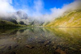 Entre brume et eau