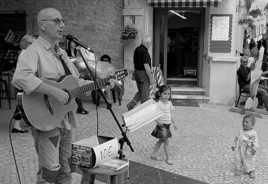Chanteur des rues