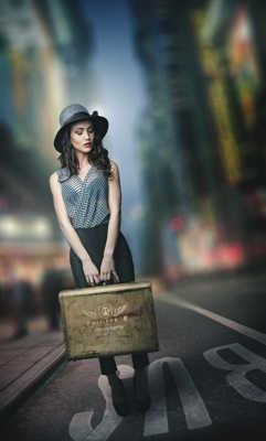 Lucie à NY