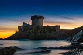 Lever de soleil sur le Fort de Socoa