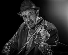 Violoniste de rue