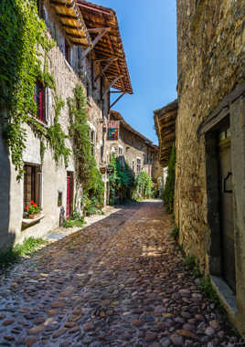 Pérouges, ruelle 17