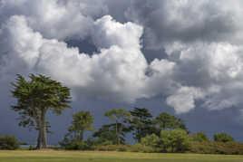 Ciel d'orage à Kerpape