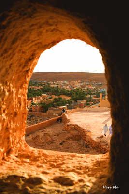 Une vue sur Beni izguen