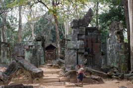Les enfants du temple