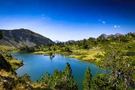 Les pyrénées et ses lacs