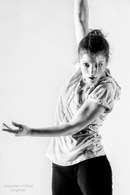Cécilia en plein ballet
