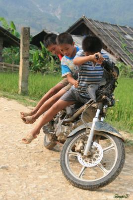 Les enfants SAPA