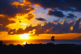 Hinano sunset