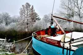 Trop froid pour naviguer ...
