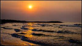 Aurore sur l'Adriatique