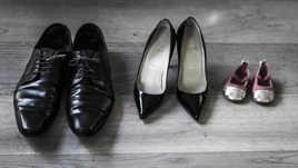 chaussures de famille