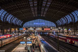 Gare Hambourg Avec Transformation