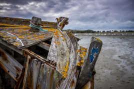 Boat at Saint Malo