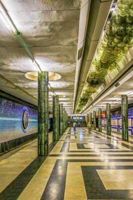 Passage par le métro ...